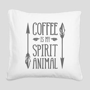 spirit animal [2] Square Canvas Pillow